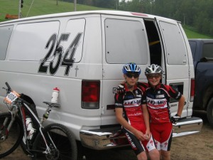 Kaleb & Mason mountian bike racing