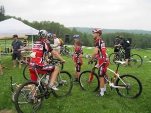 Kaleb & Mason mountian bike racing 2