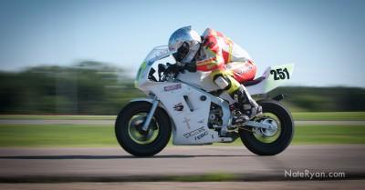 Kaleb racing